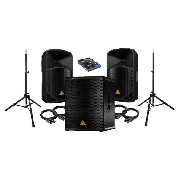 garso įrangos nuoma komplektas