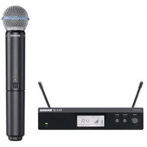shure bevielis mikrofonas nuoma